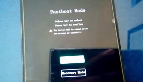 fastboot mode Vivo Y53