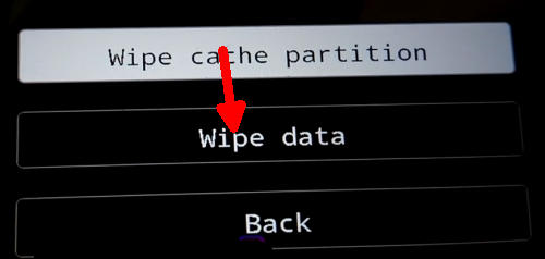 wipe data Vivo Y53