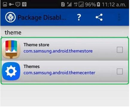 aktifkan package disable pro